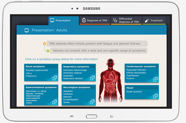 ipad app developers india differential diagnosis app