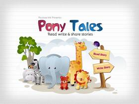 Story telling App for iPad and iPhone