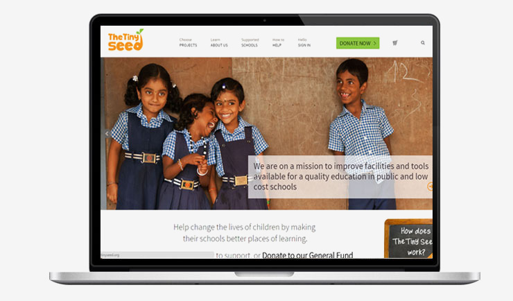 Crowd Funding Web Site Portal development for NGO, Non Profit